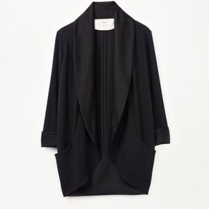 Wilfred satin crepe blazer